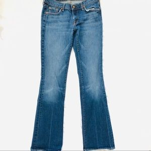 7 For All Mankind Bootcut Jeans Blue Size 29